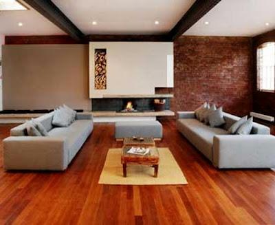 Màu sắc sàn gỗ hương trong sự thiết kế