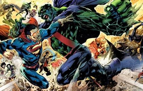 Detective Marciano versus Superman en cómics