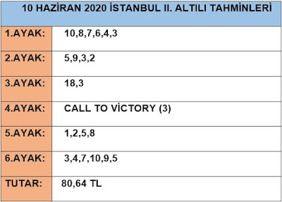 10-haziran-2020-çarşamba-istanbul-at-yarisi-tahminleri