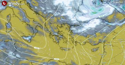 Ηλιοφάνεια αύριο στο μεγαλύτερο μέρος της χώρας - Μικρή άνοδος της θερμοκρασίας