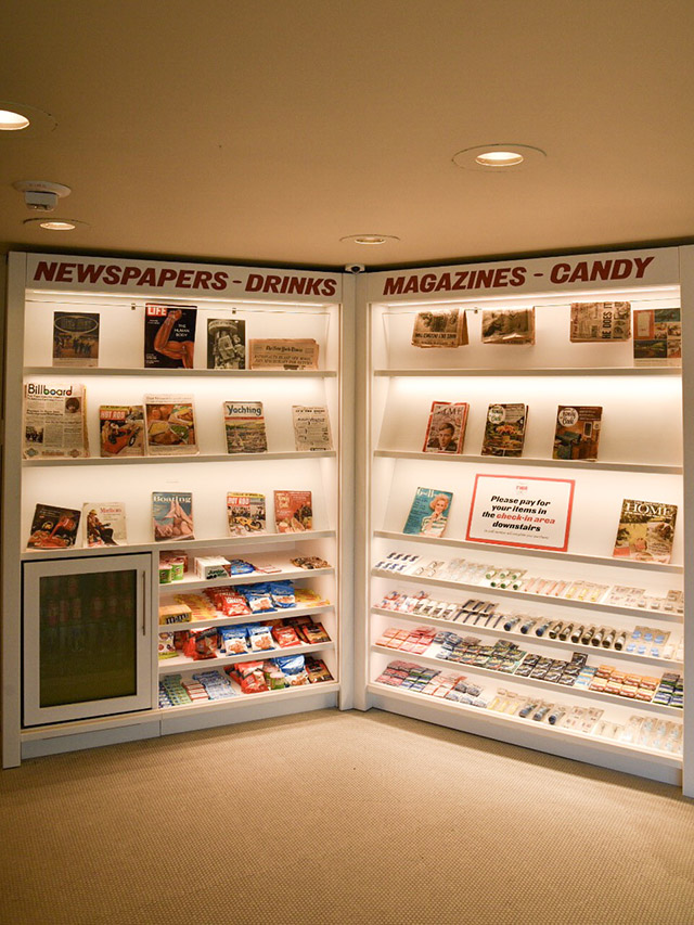 TWA Hotel JFK Store Newspapers