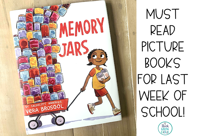 end of year picture book activities