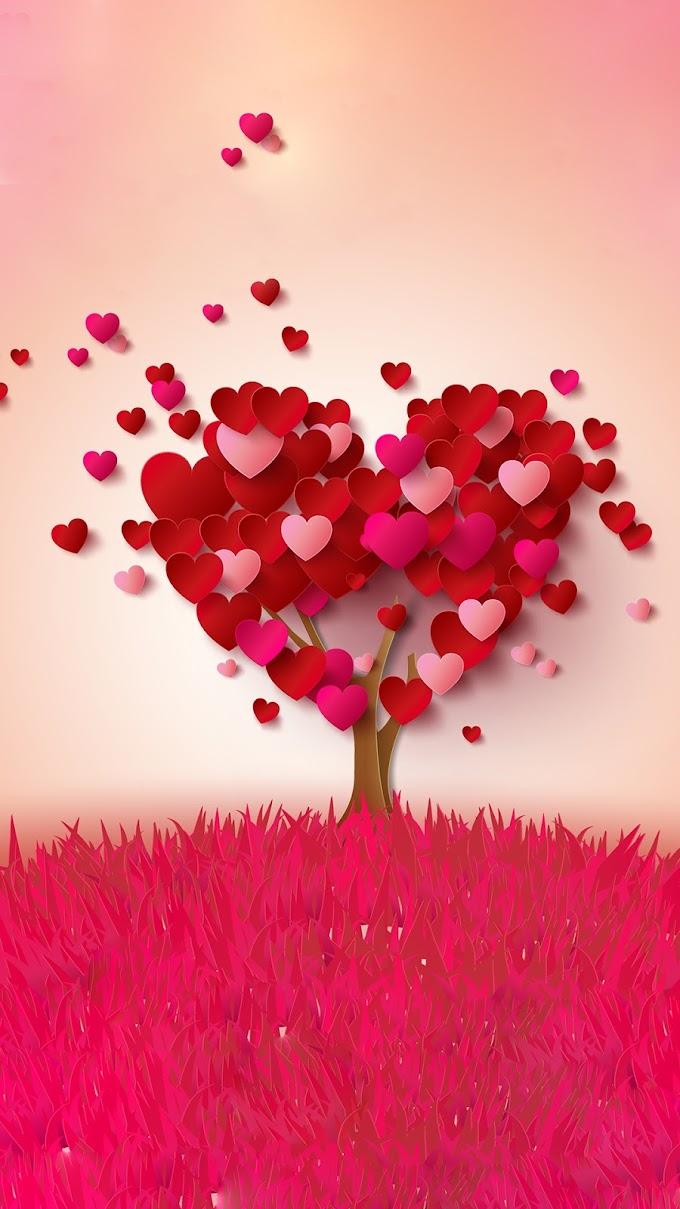 Papel de Parede Celular Árvore do Amor