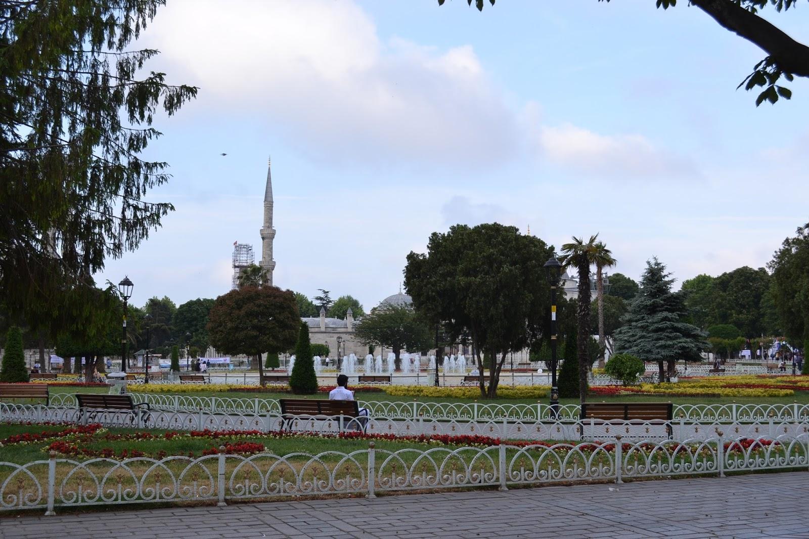 parc sultan ahmet, Istanbul, Turquie