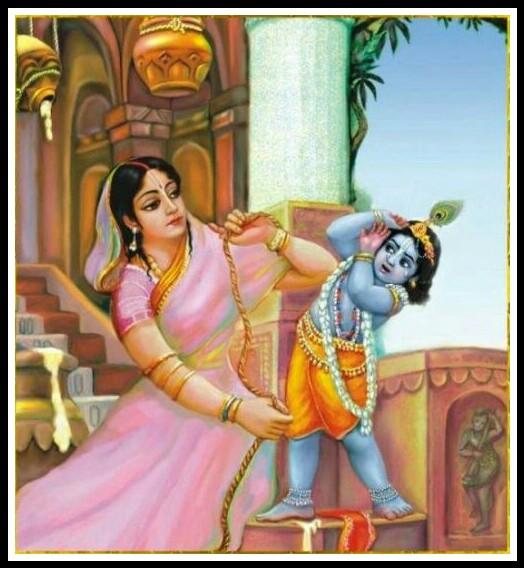 krishna yashoda maiya image