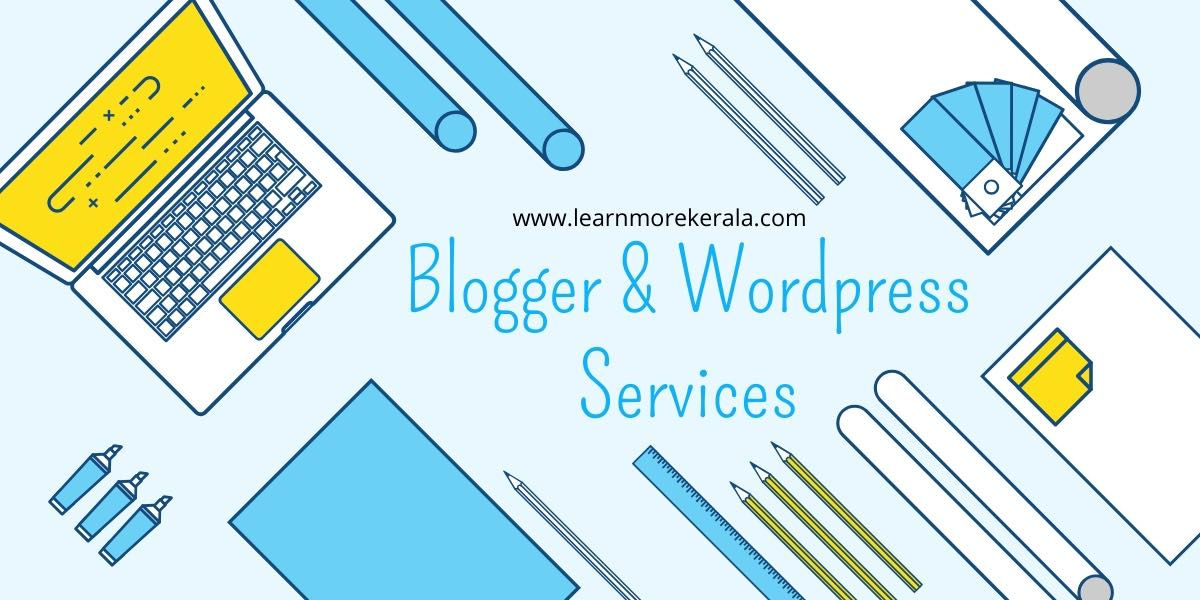 blogger wordpress services
