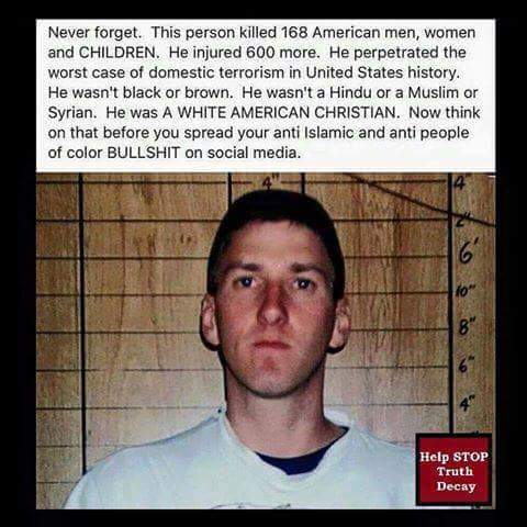terrorism and terrorist acts in the united states What percentage of terror attacks in the united states and europe are committed  by muslims guess nope guess again and again.