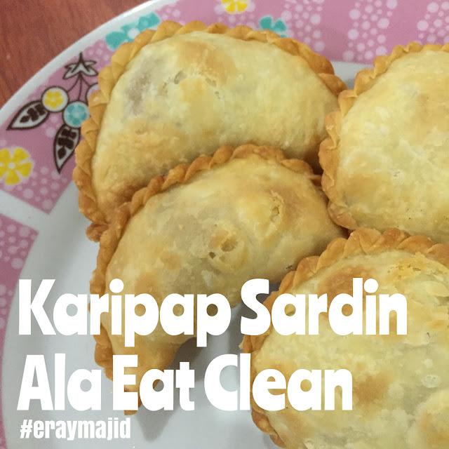karipap sardin, resepi karipap sardin, sardine curry puff, karipap sardin simple