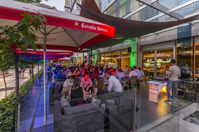 Restaurantes no bairro de Las Condes em Santiago do Chile