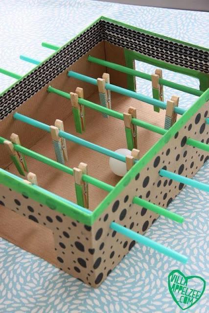 Κατασκευές απο χαρτόκουτα για παιδιά