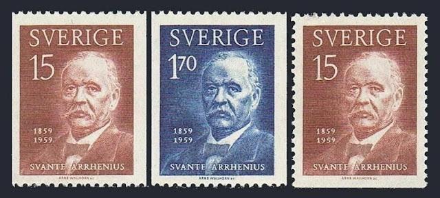 Sweden Svante Arrhenius