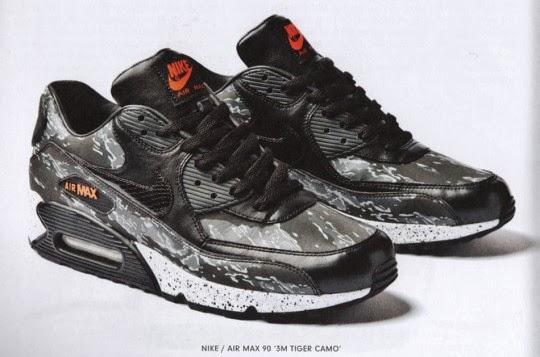 HYPE STREET: Nike Air Max 90 Premium Black Tiger Camo Pack