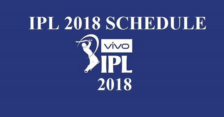 Make the time table of ipl  with venue pdf