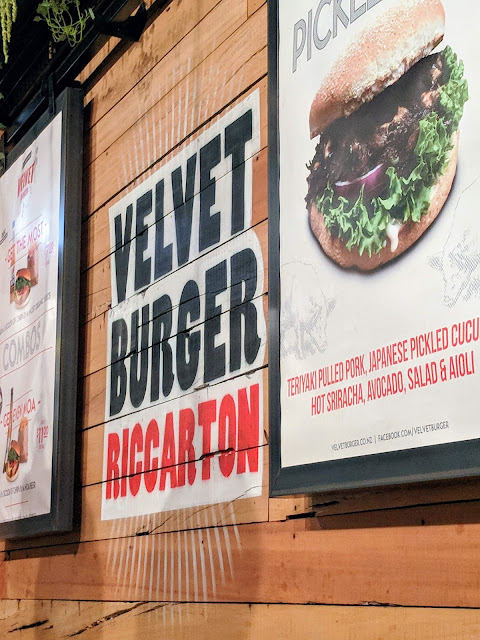 Things to do in Christchurch New Zealand: Grab a burger at Velvet Burger in Riccarton