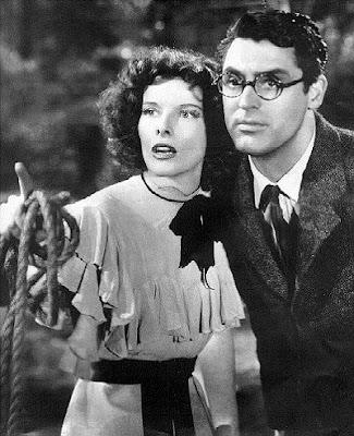 Bringing Up Baby - Katherine Hepburn and Cary Grant