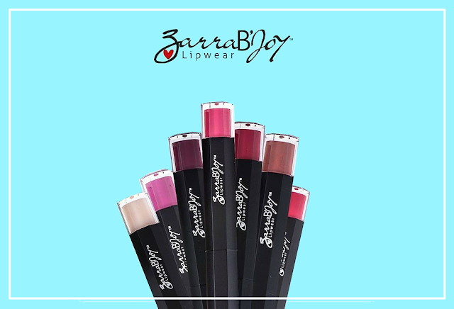 Bibir Menawan Dengan Matte Lipstick ZarraB'Joy Lipwear
