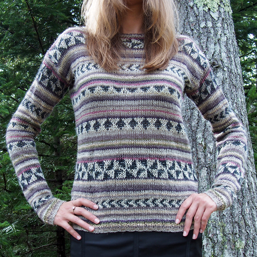 Arezzo by Kaffe Fassett, knit by Dayana Knits