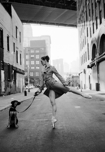 Ballerinas in New York by Dane Shitagi
