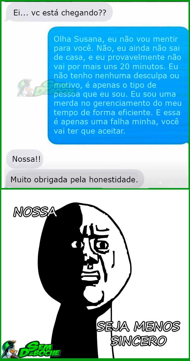 HONESTIDADE ACIMA DE TUDO