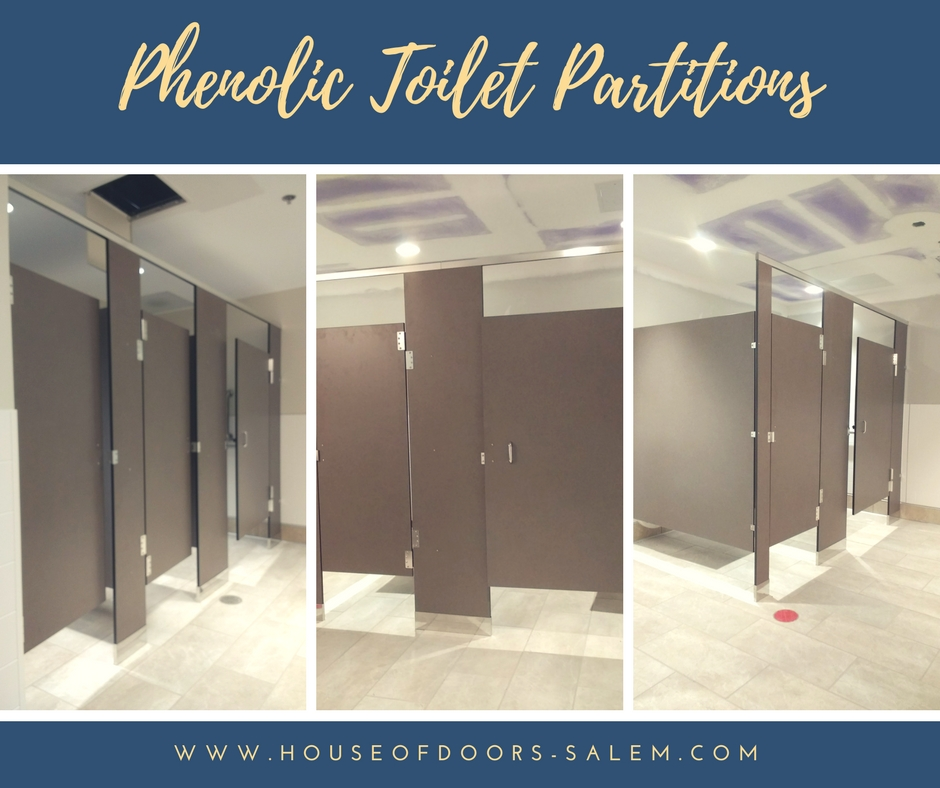 Toilet Partitions - Phenolic - Sold serviced and installed by House of Doors - Roanoke VA & Toilet Partitions - Phenolic - Sold serviced and installed by House ...