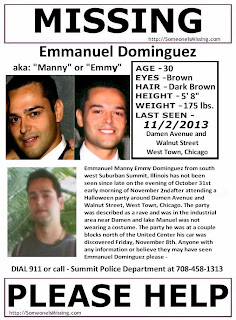 Emmanuel Dominguez missing poster