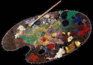 COME FARE LE VELATURE CON I COLORI AD OLIO blog Artistah24 - tavolozza da pittore con colori a olio