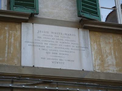 Via Romana Firenze Jessie White-Mario