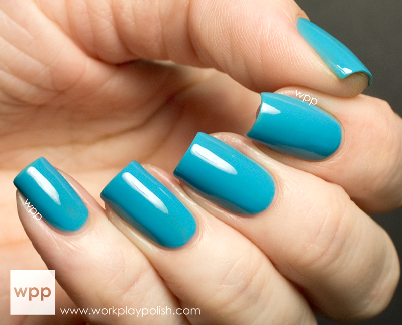 Precision Lacquer Surfin' in Maliblue