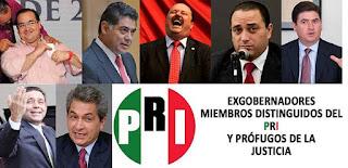 Gobernadores PRIISTAS sujetos a proceso judicial