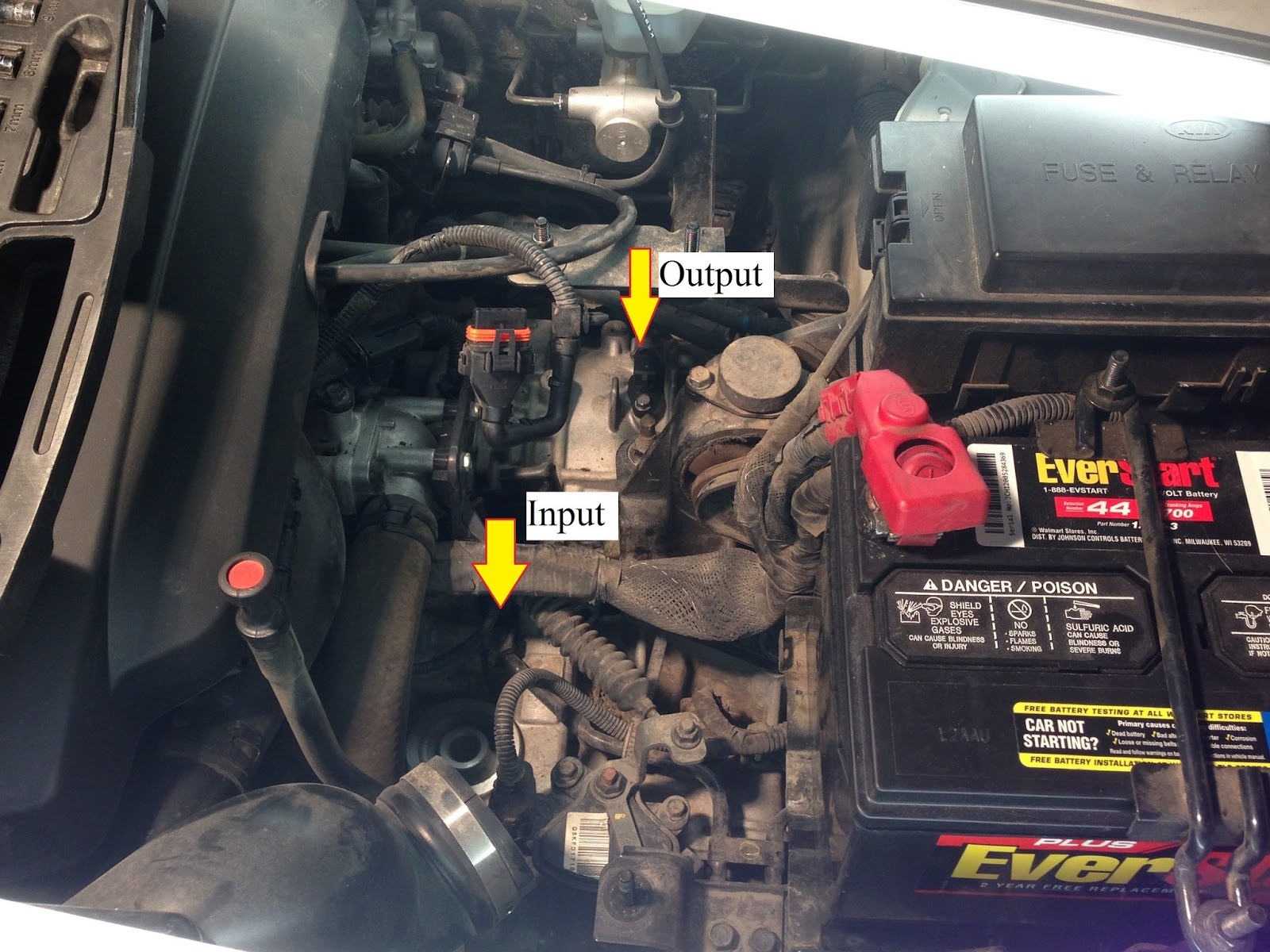 small resolution of 6 before taking out the sensor i would make the suggestion to clean out the part of your engine compartment where the sensors are