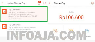 Top Up ShopeePay Pakai OVO