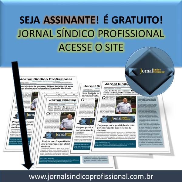 GRATUITO: Receba o Jornal Síndico Profissional e fique atualizado