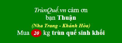 Trùn quế Khánh Hòa