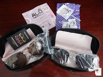 Ahhh, todos os óculos da Dra. Biju vem com certificado de garantia de 90  dias. 14c973a78f