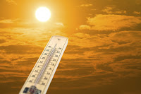 Heatwaves will become a daily occurrence over summer in some regions even if global warming is kept to 2°C. (Credit: © worawut2524 / Fotolia) Click to Enlarge.