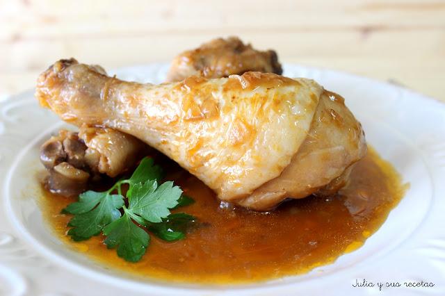 Pollo con coca cola. Julia y sus recetas