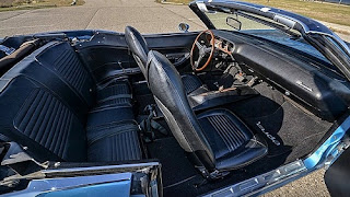 1970 Plymouth Barracuda 340 Coupe Convertible Cabin Interior