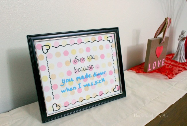 image regarding I Love You Because Printable identified as I Delight in Oneself Due to the fact Concept Board + cost-free printable - House