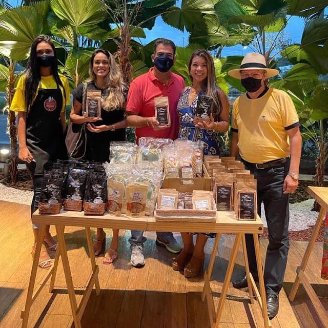 Prefeito de Piatã participa da exposição da Feira de Apoio ao Pequeno Produtor em Salvador