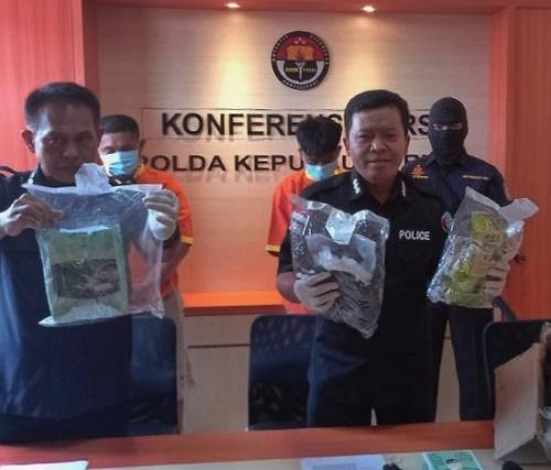 Kirim 3 Kg Sabu dari Batam Ke Makassar, Diupah Rp 25 Juta