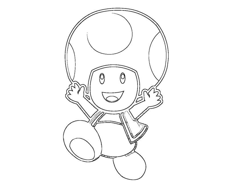 toad coloring pages - photo #42