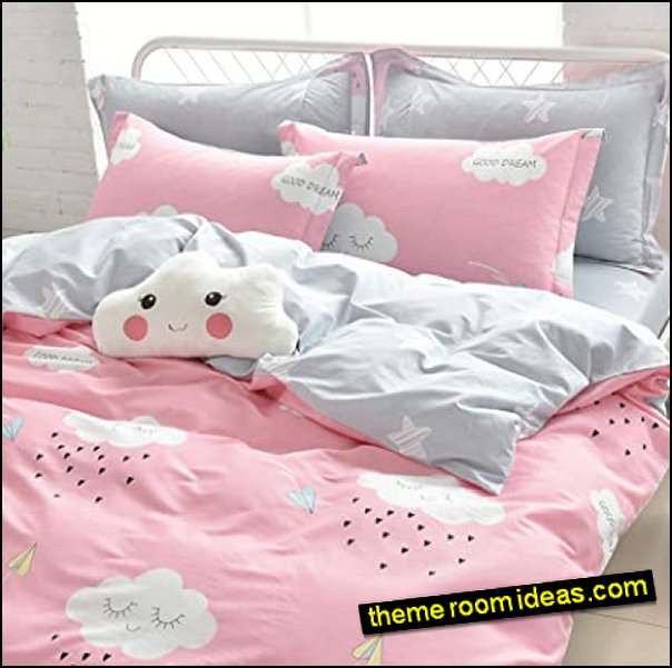 Clouds and Rain Bedding clouds bedding weather bedroom decor cloudy rain bedroom