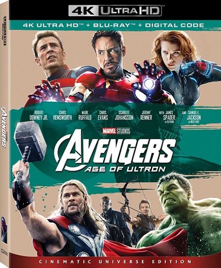 Avengers: Age of Ultron 4K (Los Vengadores: La Era de Ultrón) (2015) 2160p 4K UltraHD HDR BluRay REMUX 53GB mkv Dual Audio Dolby TrueHD ATMOS 7.1 ch
