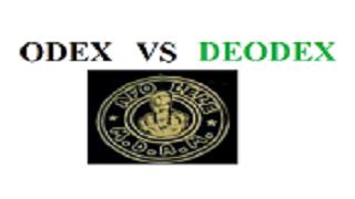 perbedaan ODEX DAN DEODEX