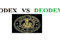 Perbedaan Odex dan Deodex Pada System Android
