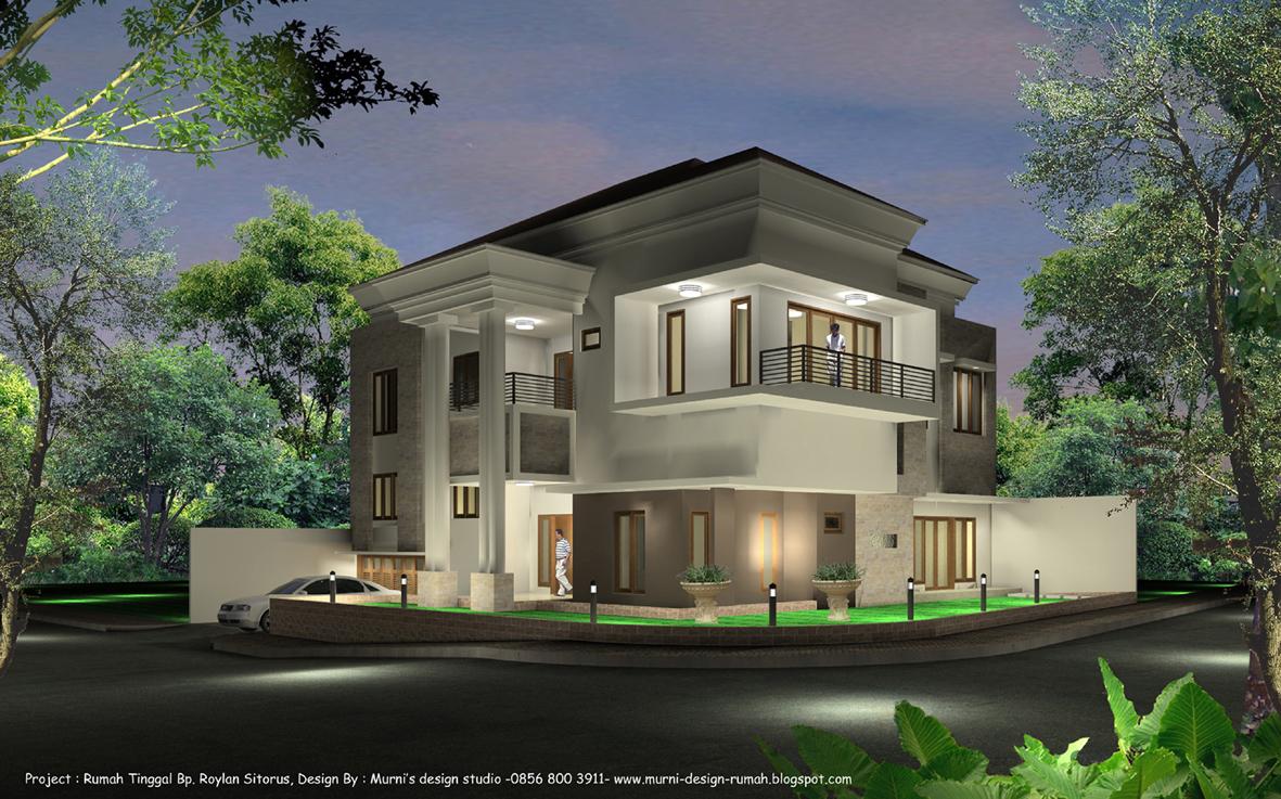 Desain Rumah Bali Modern 2 Lantai Rumah Minimalis Terbaru