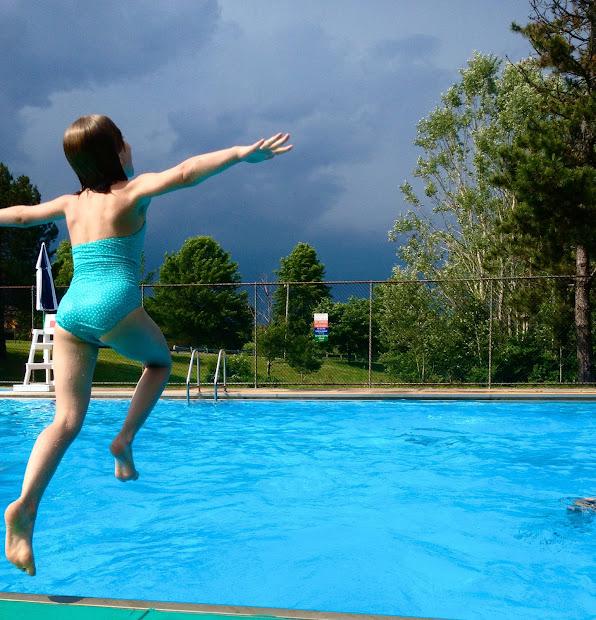 Pool Diving Board School