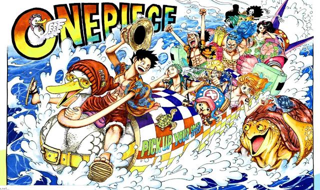 Spoiler manga one piece 958 - Poneglyph Dan Wano