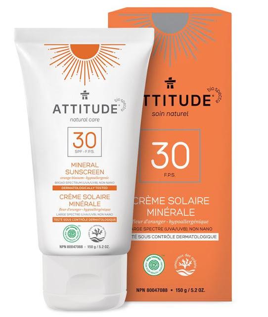 Crème solaire minérale - Attitude