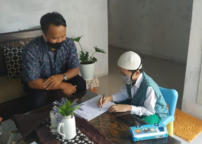 "Berikan Pelayanan Pendidikan Secara Tatap Muka, SD Muhayya Banjarbaru Gelar ""Teacher Goes To Home"""